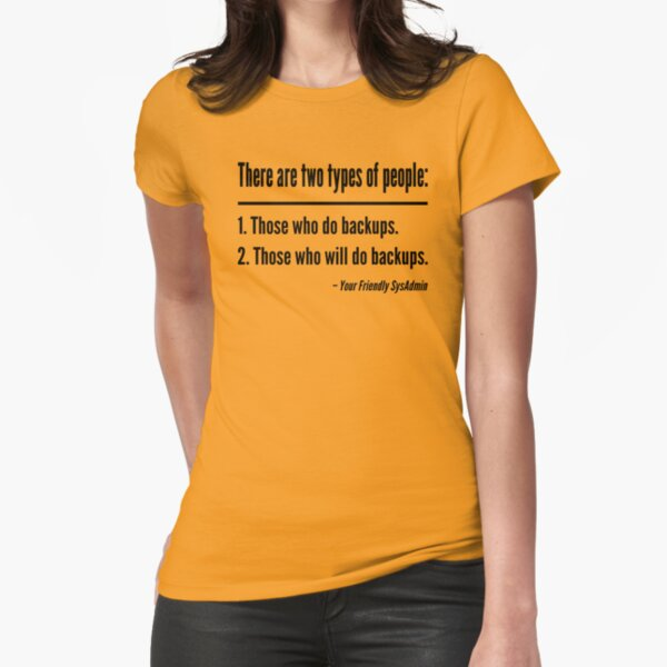 T-Shirts: Backup | Redbubble